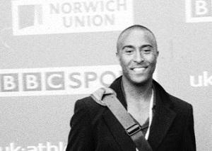 Former World Champion sprinter Colin Jackson. Credit: Guy Evans