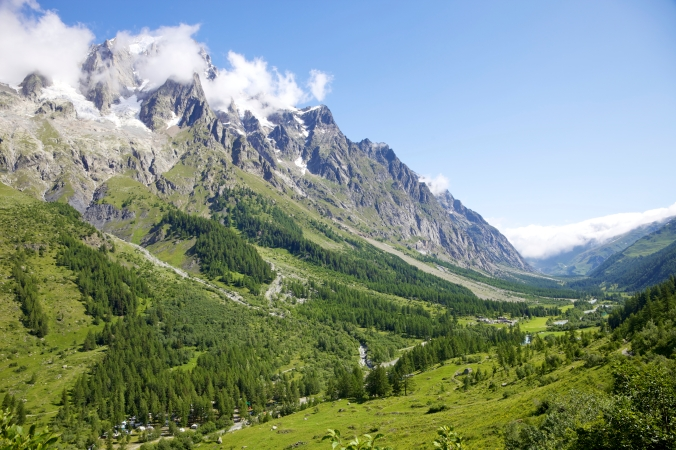 Idyllic Alps Valley