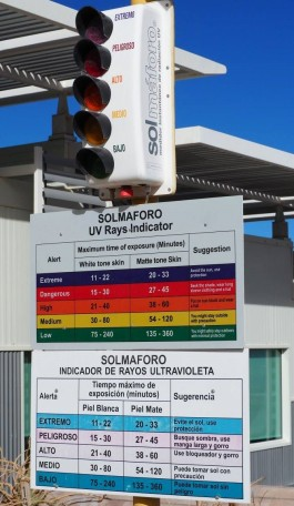 UV Warning Atacama