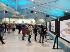 The opening reception was a great time to highlight the science outreach taking place all over the country! It was encouraging to see how much science outreach is being supported at various institutions.
