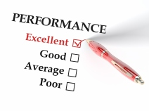 A performance form with excellent checked off